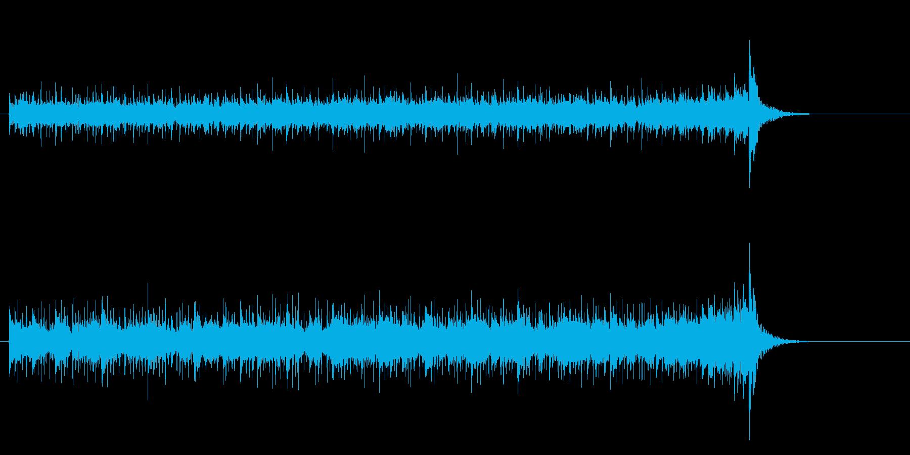 不思議で奇妙なワールドミュージックの再生済みの波形