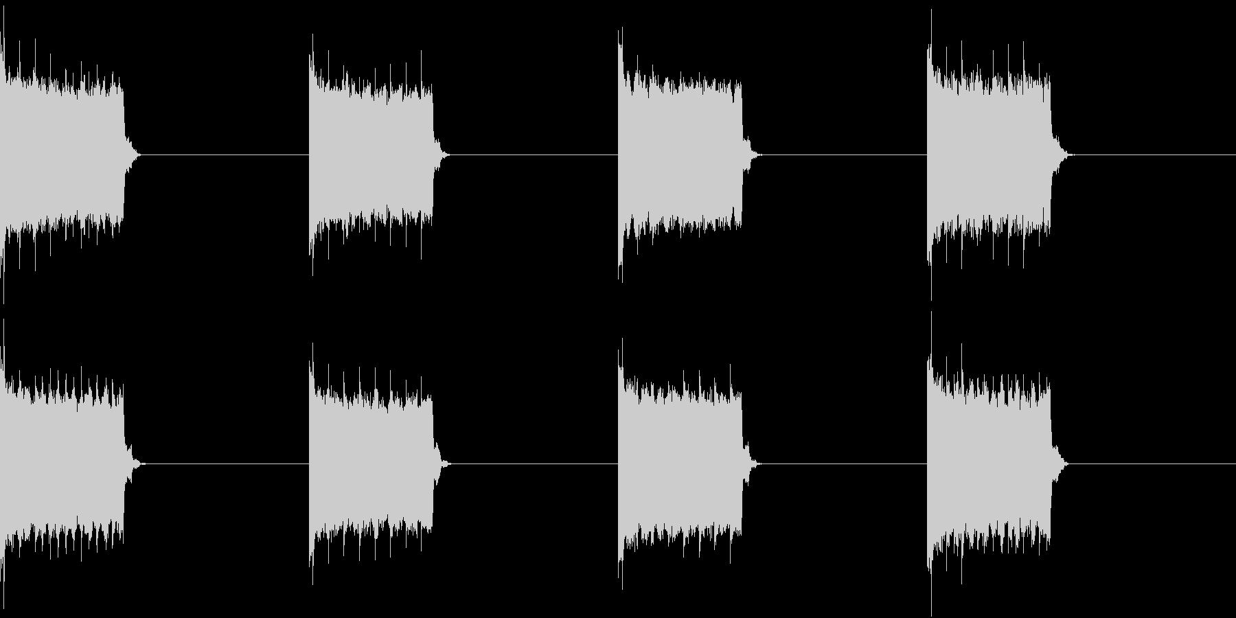 電話 着信音 スマホ 電子音の未再生の波形