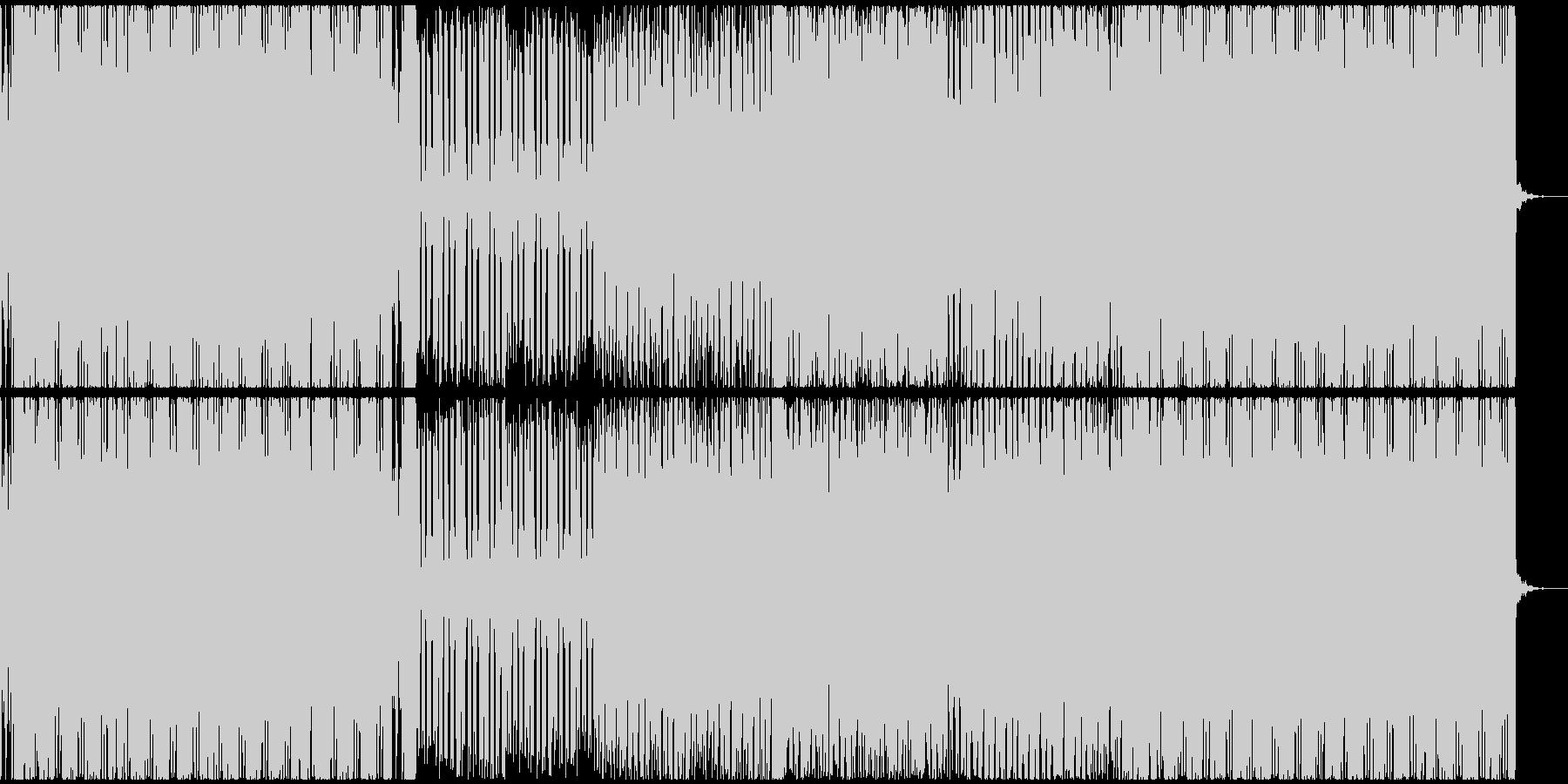 ピコピコ音で構成された曲です の未再生の波形