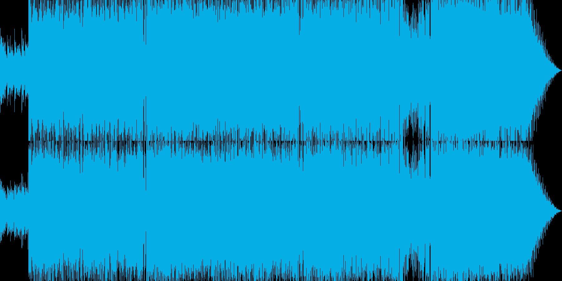 キャッチーなイントロでメローなポップスの再生済みの波形