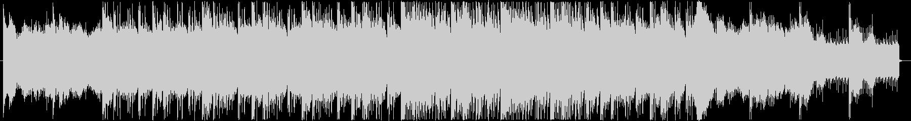 鐘の音が不気味なホラー用BGMの未再生の波形
