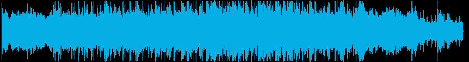 鐘の音が不気味なホラー用BGMの再生済みの波形