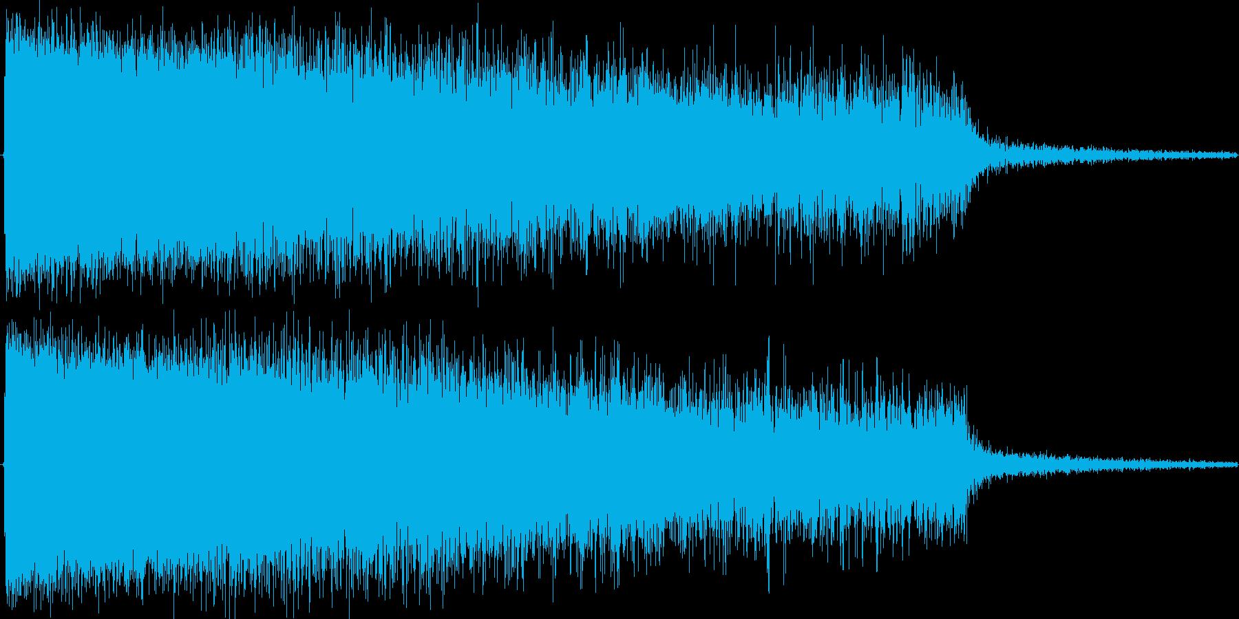 ヒューーーーーー(魔法で冷気を吐き出す)の再生済みの波形