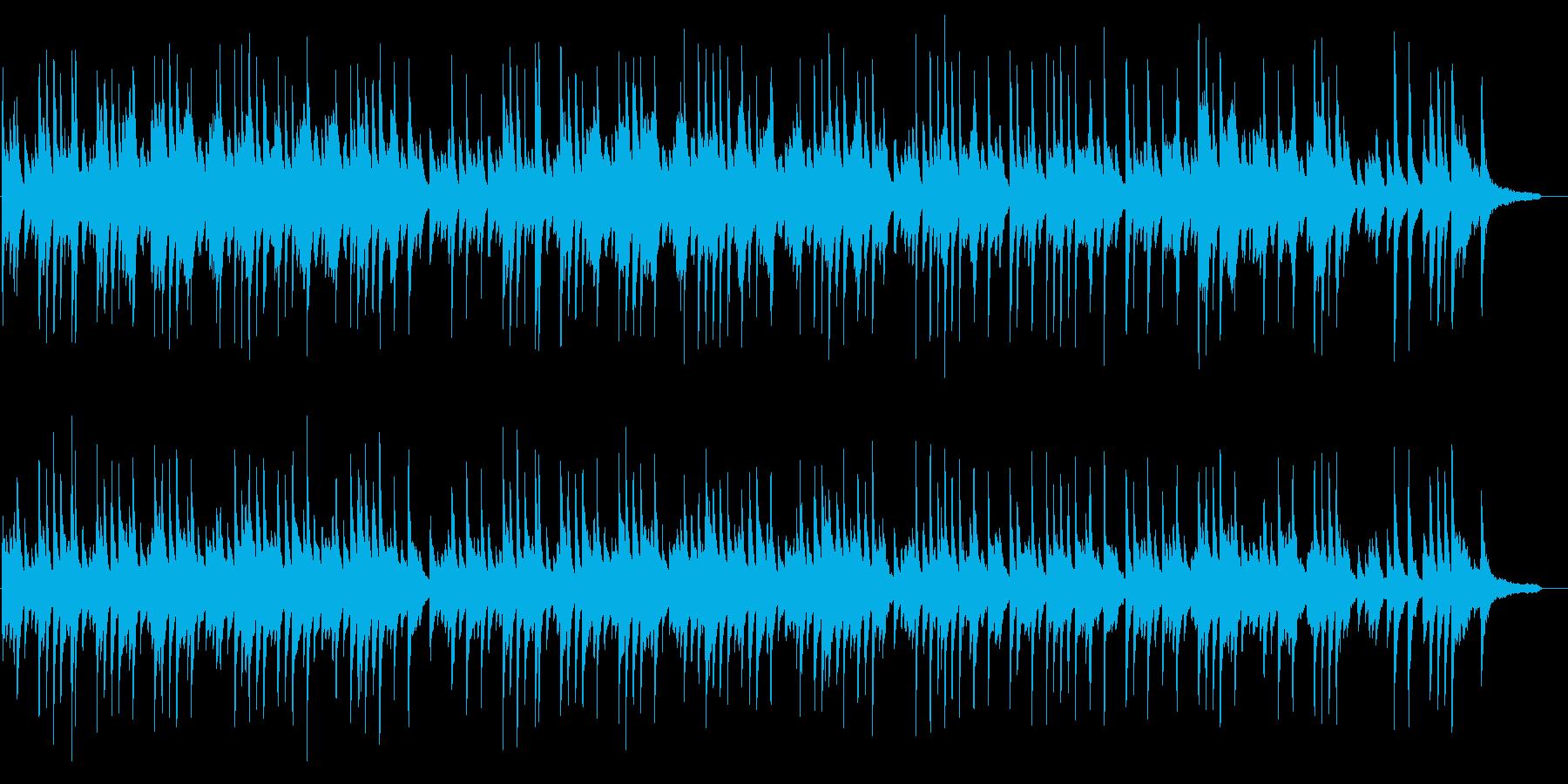 さわやかなイメージのピアノソロBGMの再生済みの波形