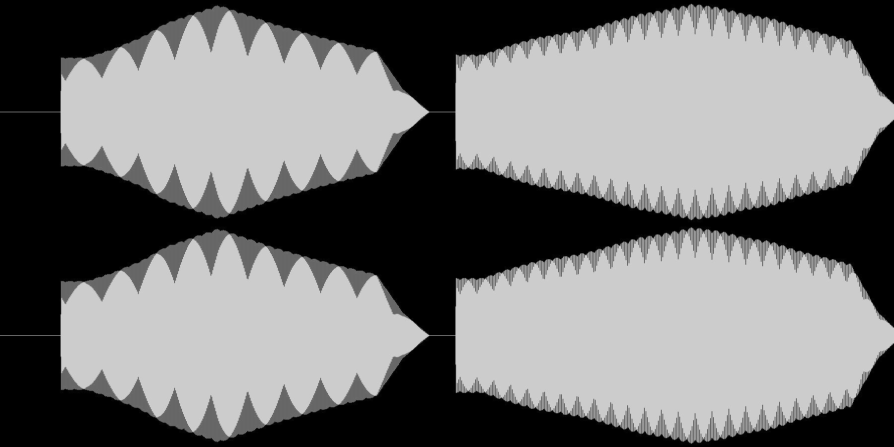 ピリッ (レトロRPG風)の未再生の波形