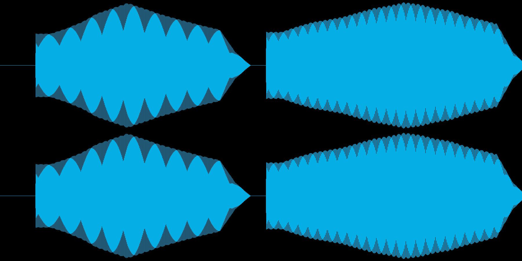 ピリッ (レトロRPG風)の再生済みの波形