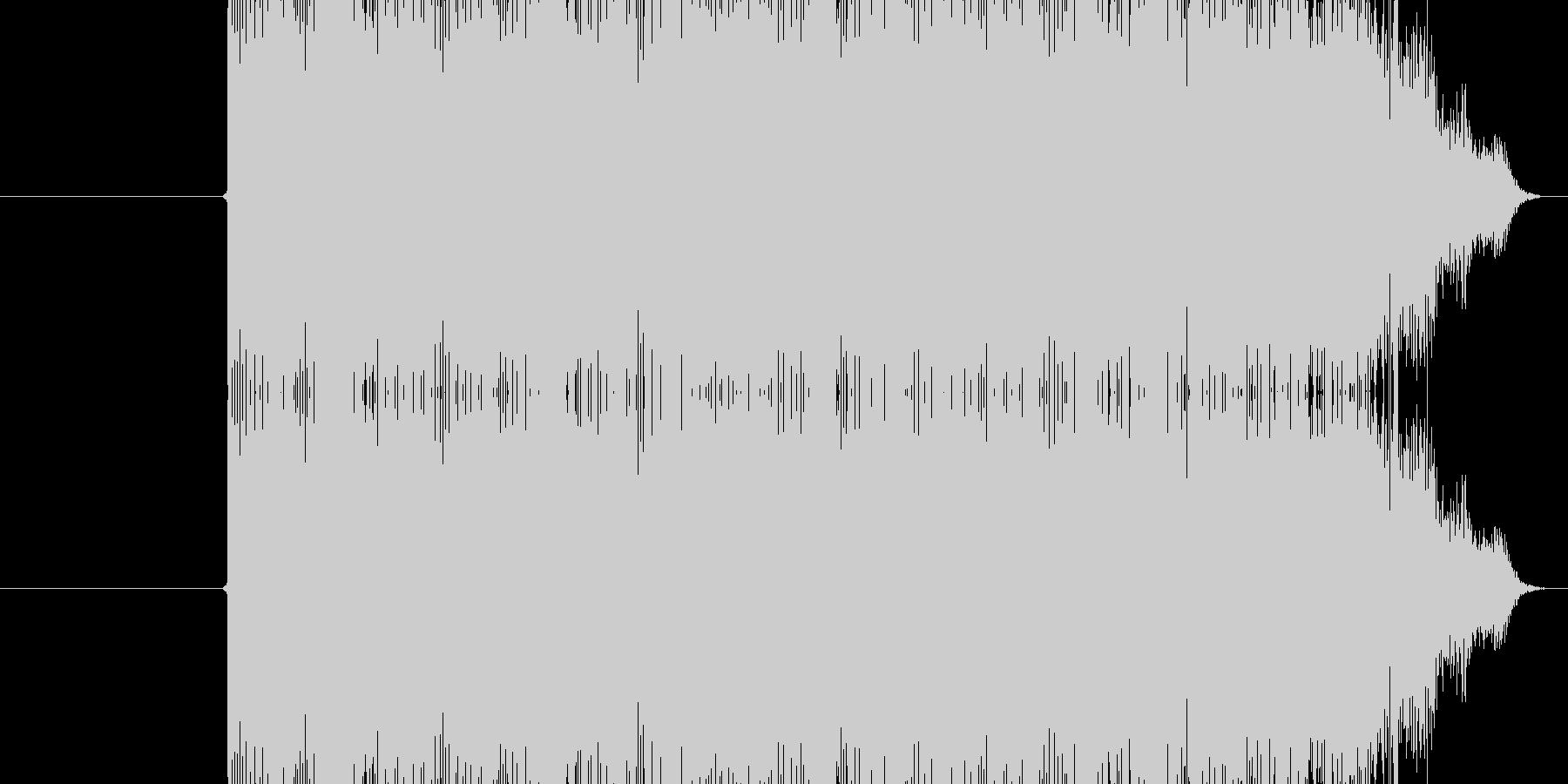 ジリリリン(電話のベルの鳴る音)の未再生の波形