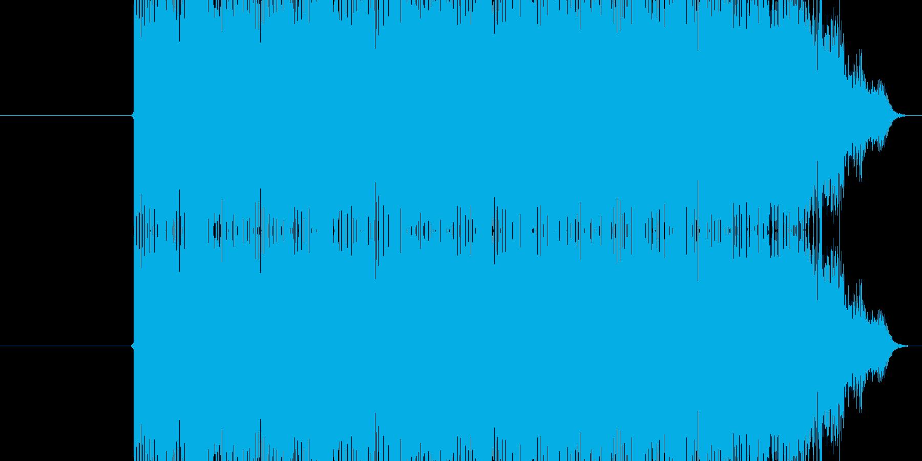 ジリリリン(電話のベルの鳴る音)の再生済みの波形