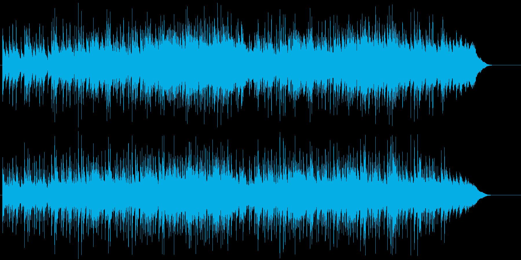 ヨーロピアンと東洋の優雅さをミックスの再生済みの波形