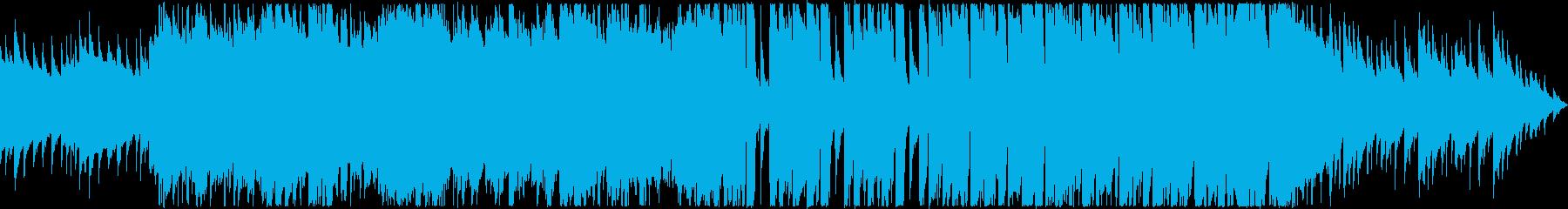 仲良しグループが談笑するイメージのBGMの再生済みの波形