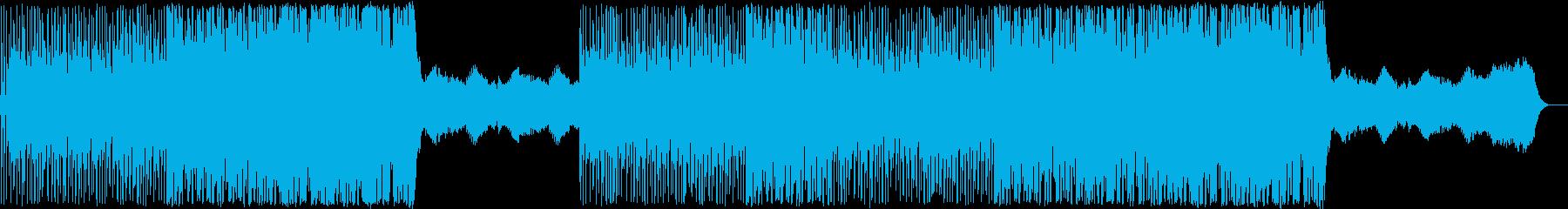 おまぬけな日常の曲ですの再生済みの波形