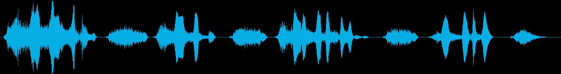 連続笑い2 えへへ【談笑、ホラー演出】の再生済みの波形