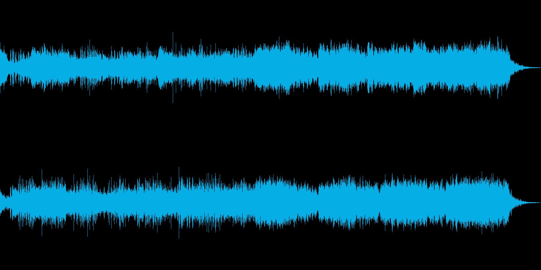 近未来的な、宇宙的な音をイメージしまし…の再生済みの波形