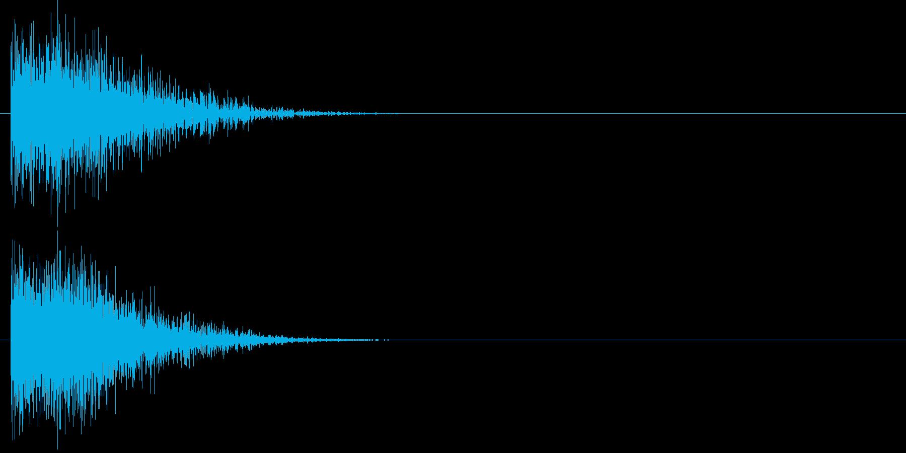 汎用 ヒット系01(小) 出題 フリップの再生済みの波形