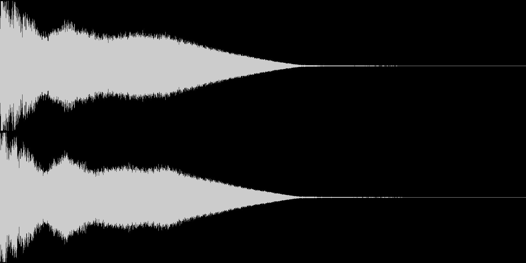 シャキーン キュイーン キラーン 02の未再生の波形