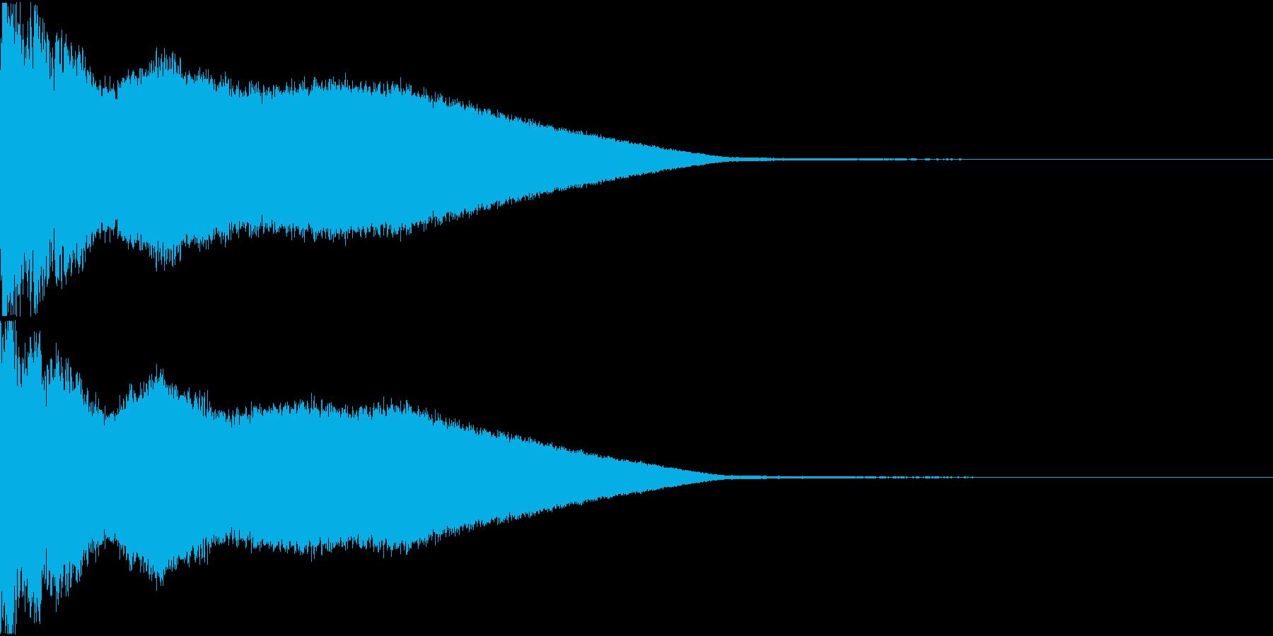 シャキーン キュイーン キラーン 02の再生済みの波形