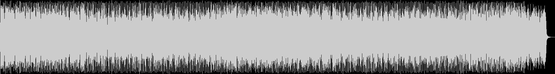 かっこいいテクノソングの未再生の波形