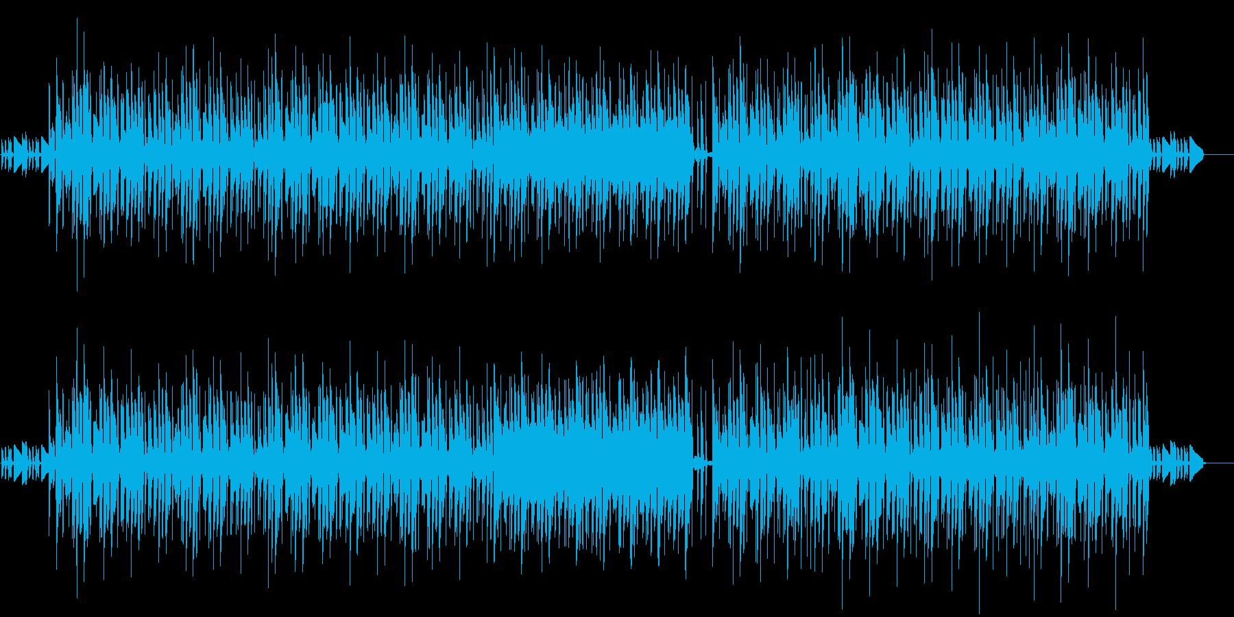 ほんのり懐かしのゲーム風街曲の再生済みの波形