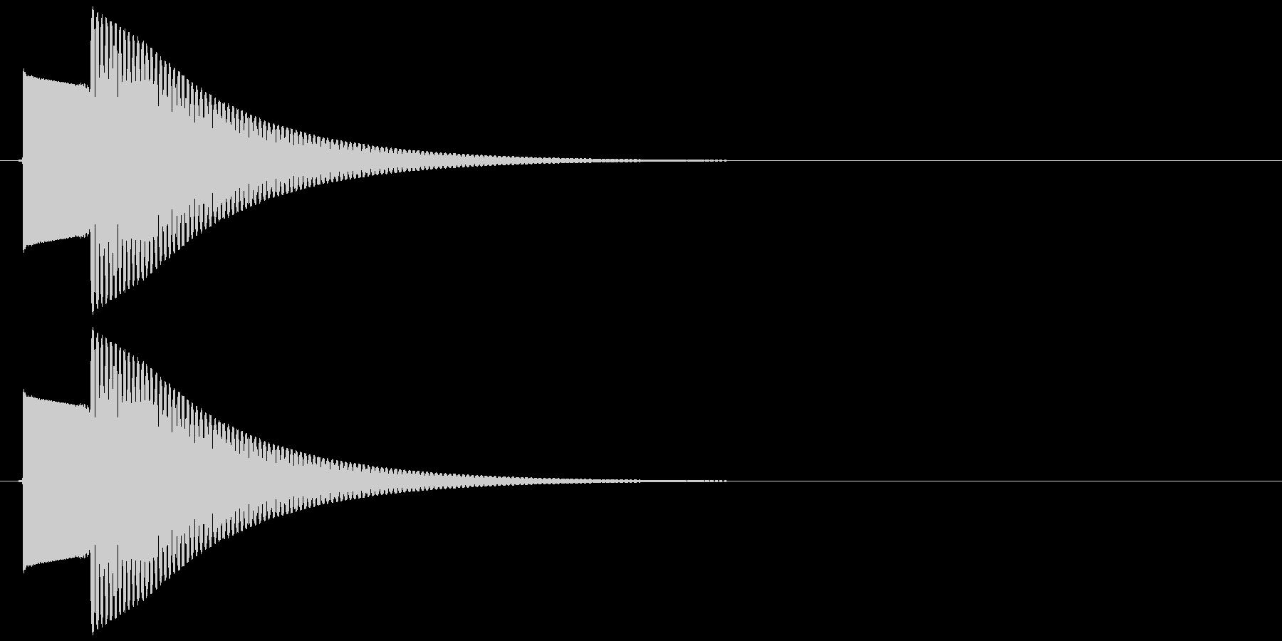 【SE】正解01(ピンポーン)の未再生の波形