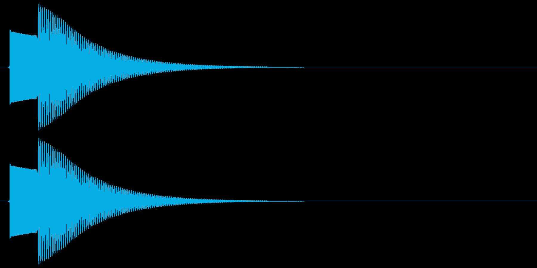 【SE】正解01(ピンポーン)の再生済みの波形