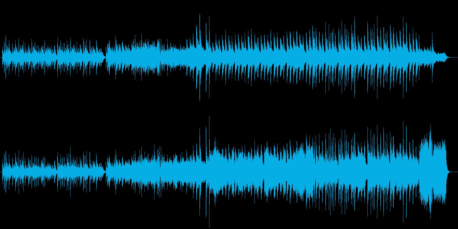 涙を誘う感動シーンに使えるバラード曲の再生済みの波形
