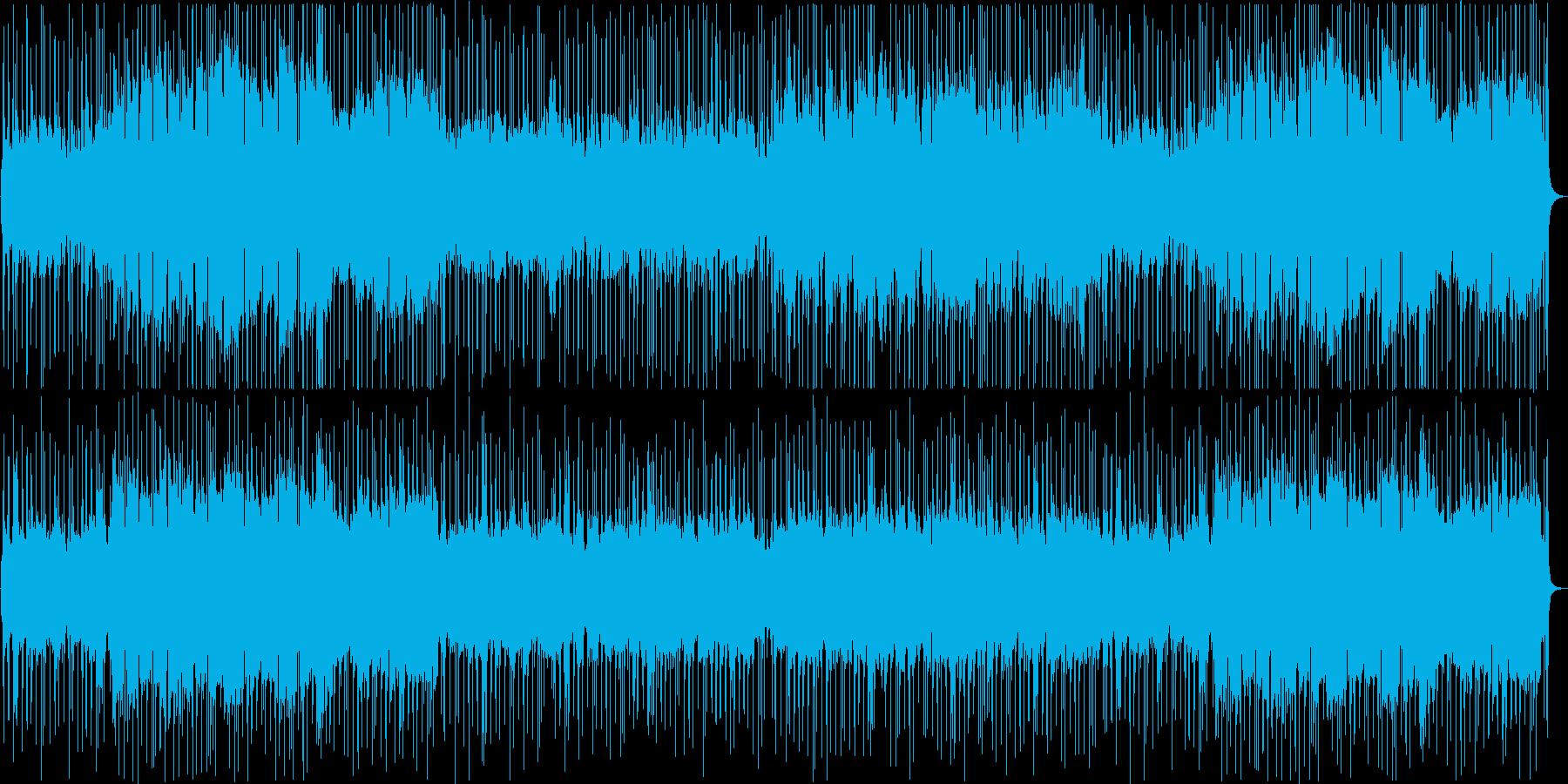 ピアノ、ブラスのクールな雰囲気のJazzの再生済みの波形
