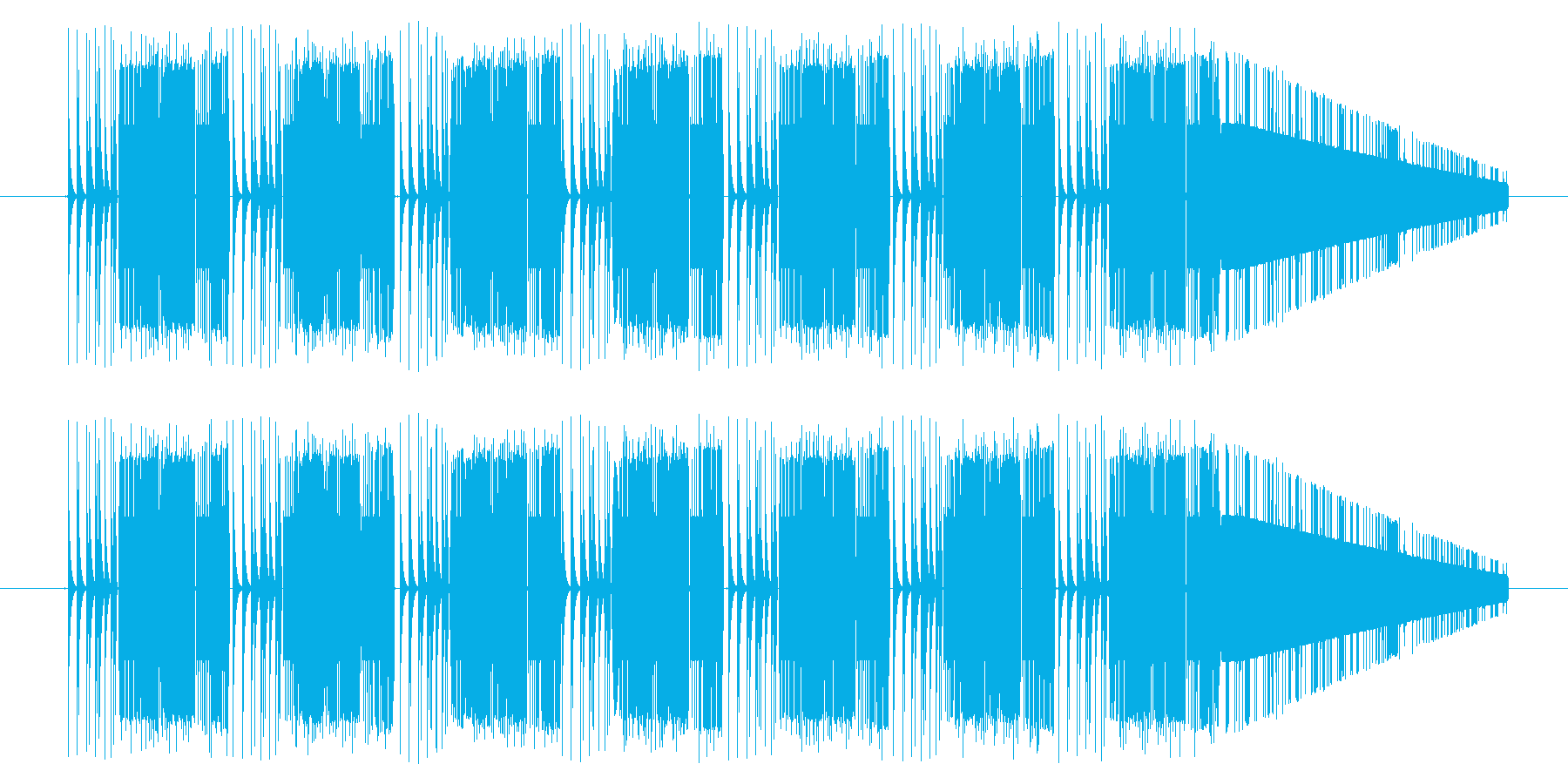 GB シューティング01-05(ダメージの再生済みの波形