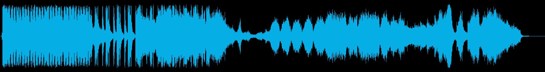ファンタジー系スケール大きめ劇版の再生済みの波形