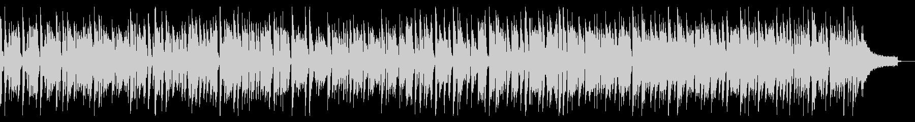 アップテンポのジャズ&ブルースピアノソロの未再生の波形