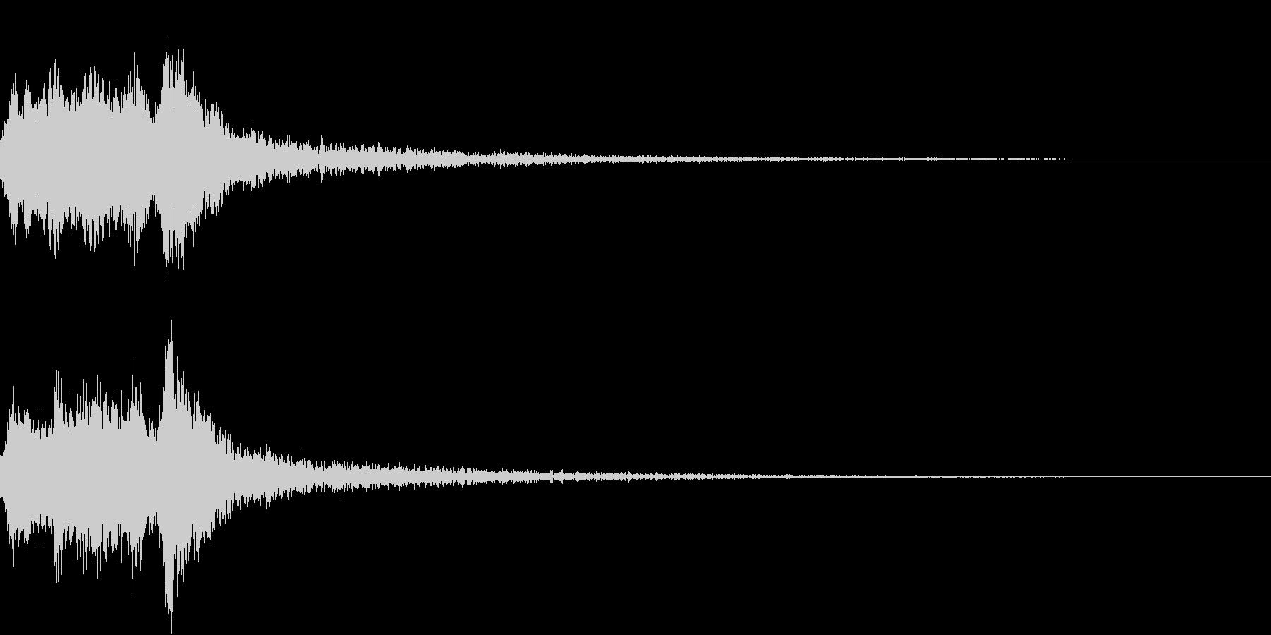 表現 現れ めくる 開く 開ける 発見2の未再生の波形