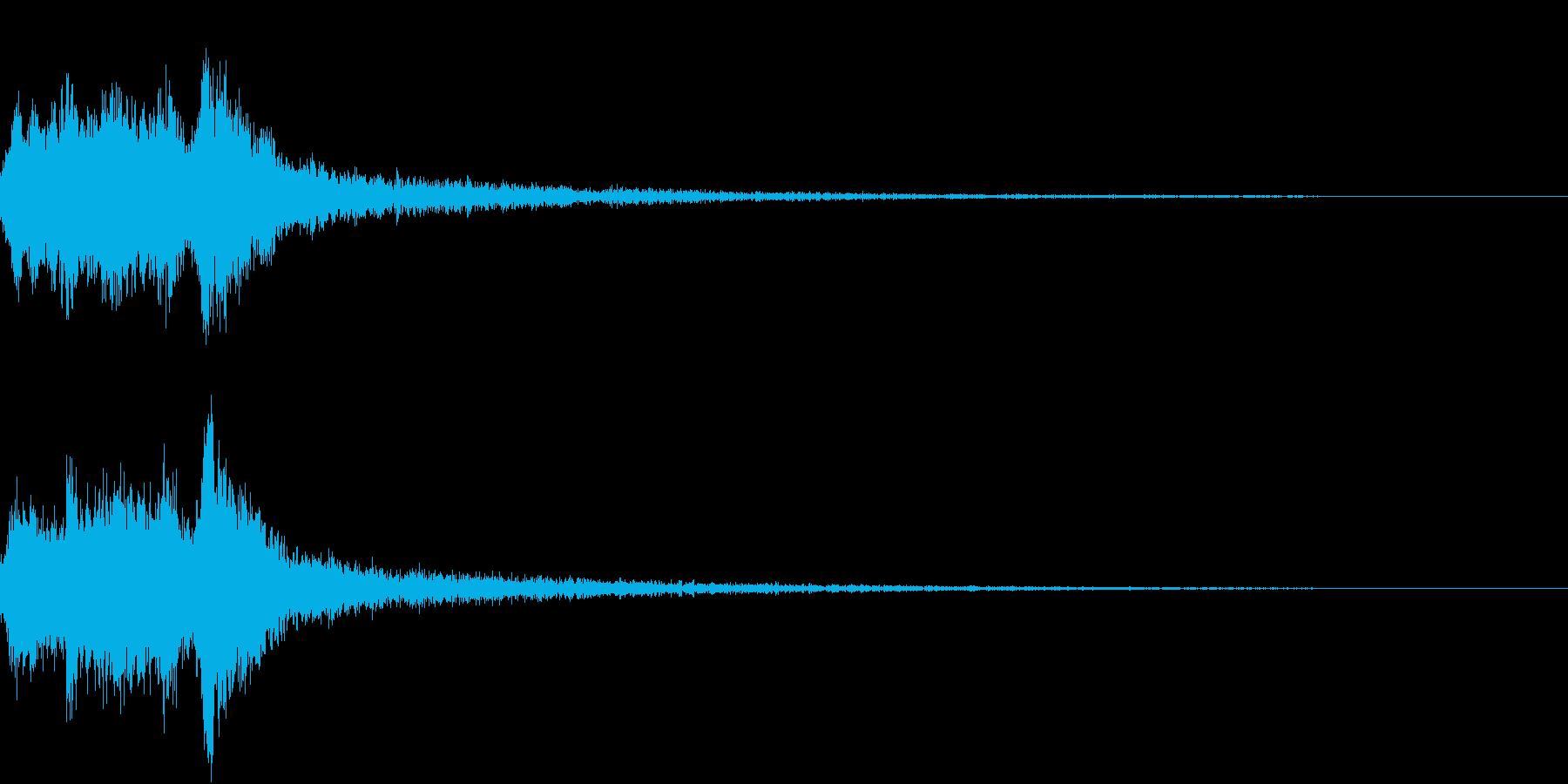 表現 現れ めくる 開く 開ける 発見2の再生済みの波形