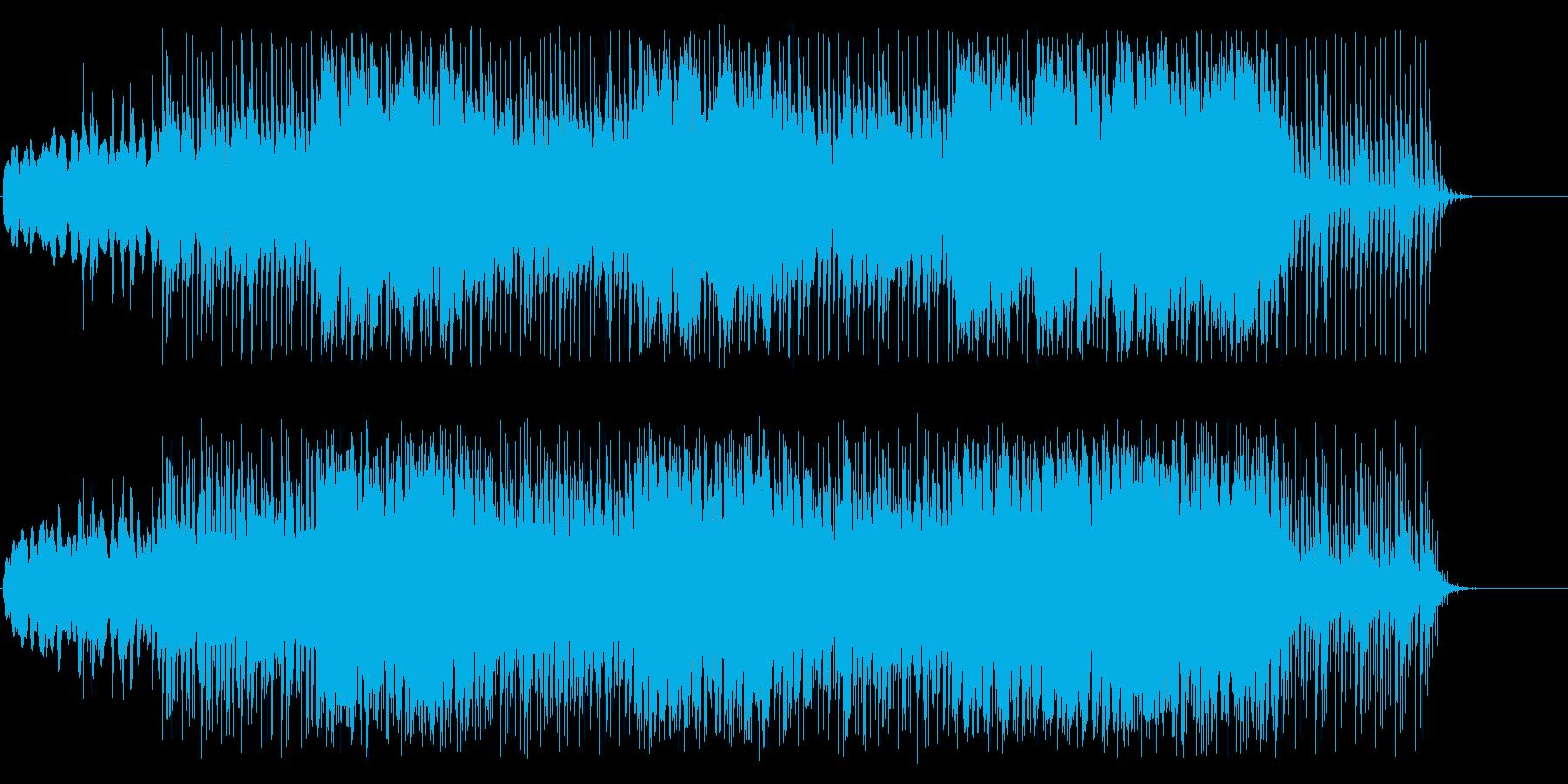 サイエンスな雰囲気のアンビエントの再生済みの波形
