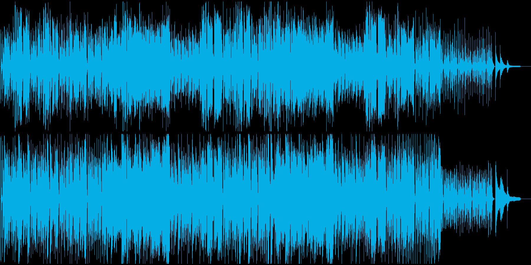 映像BGM ほのぼの優しいサウンドの再生済みの波形