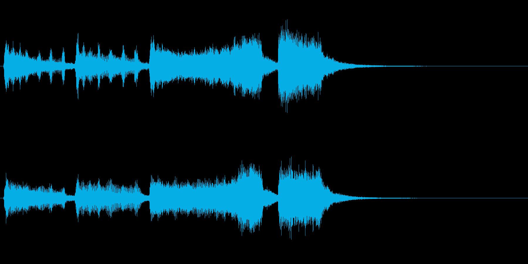 金管楽器のファンファーレ~賞発表などにの再生済みの波形