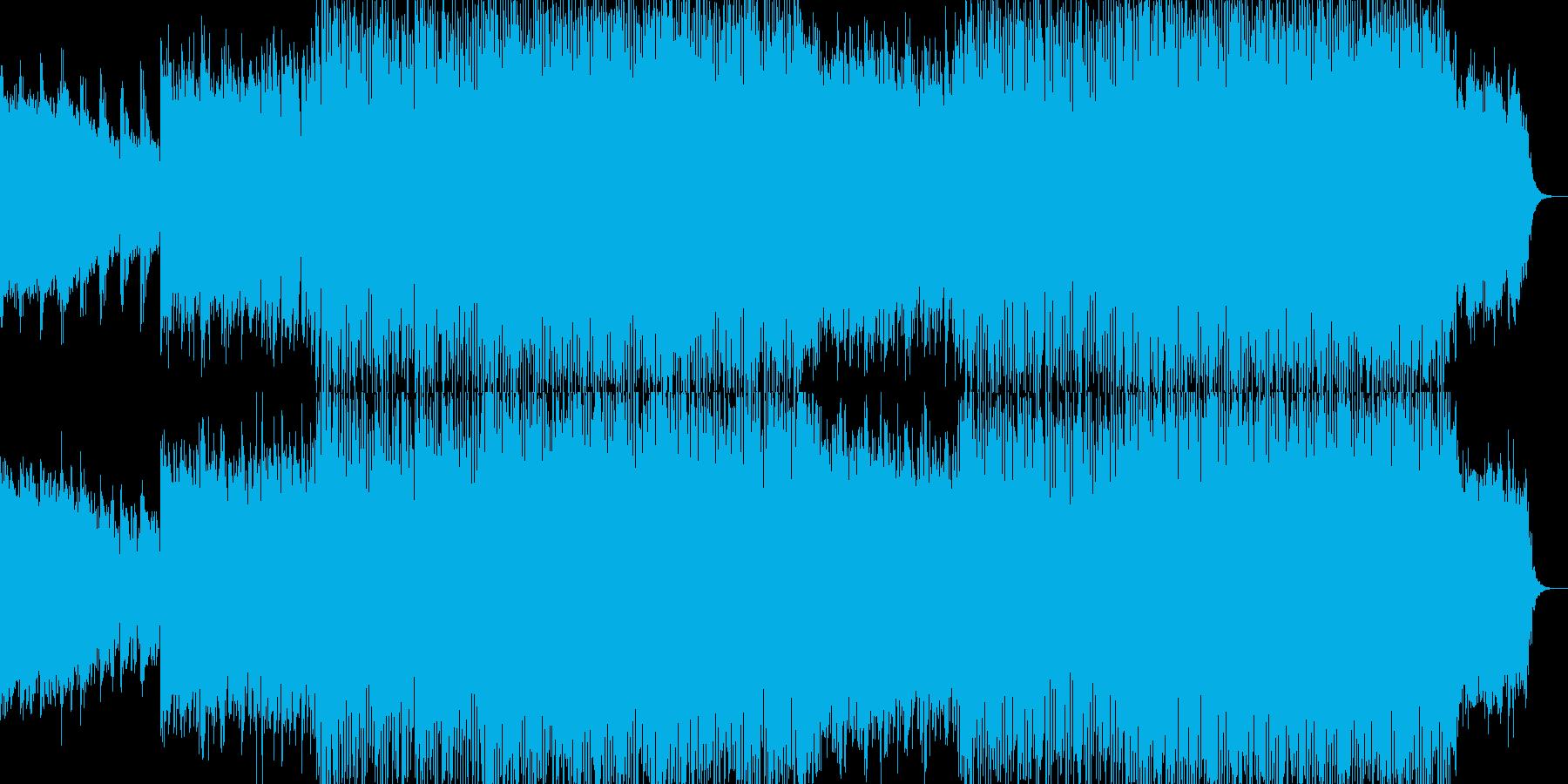 明るくポップな企業イベントVP-37の再生済みの波形