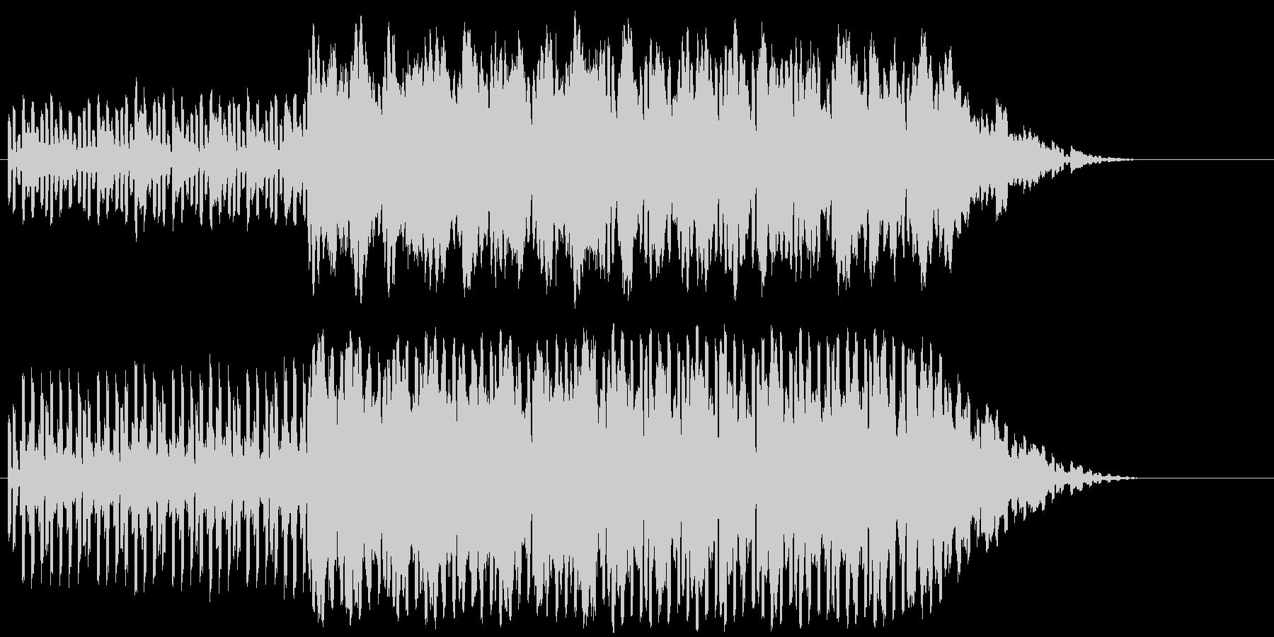 エレキギター+テクノ系001澄んだエレ…の未再生の波形