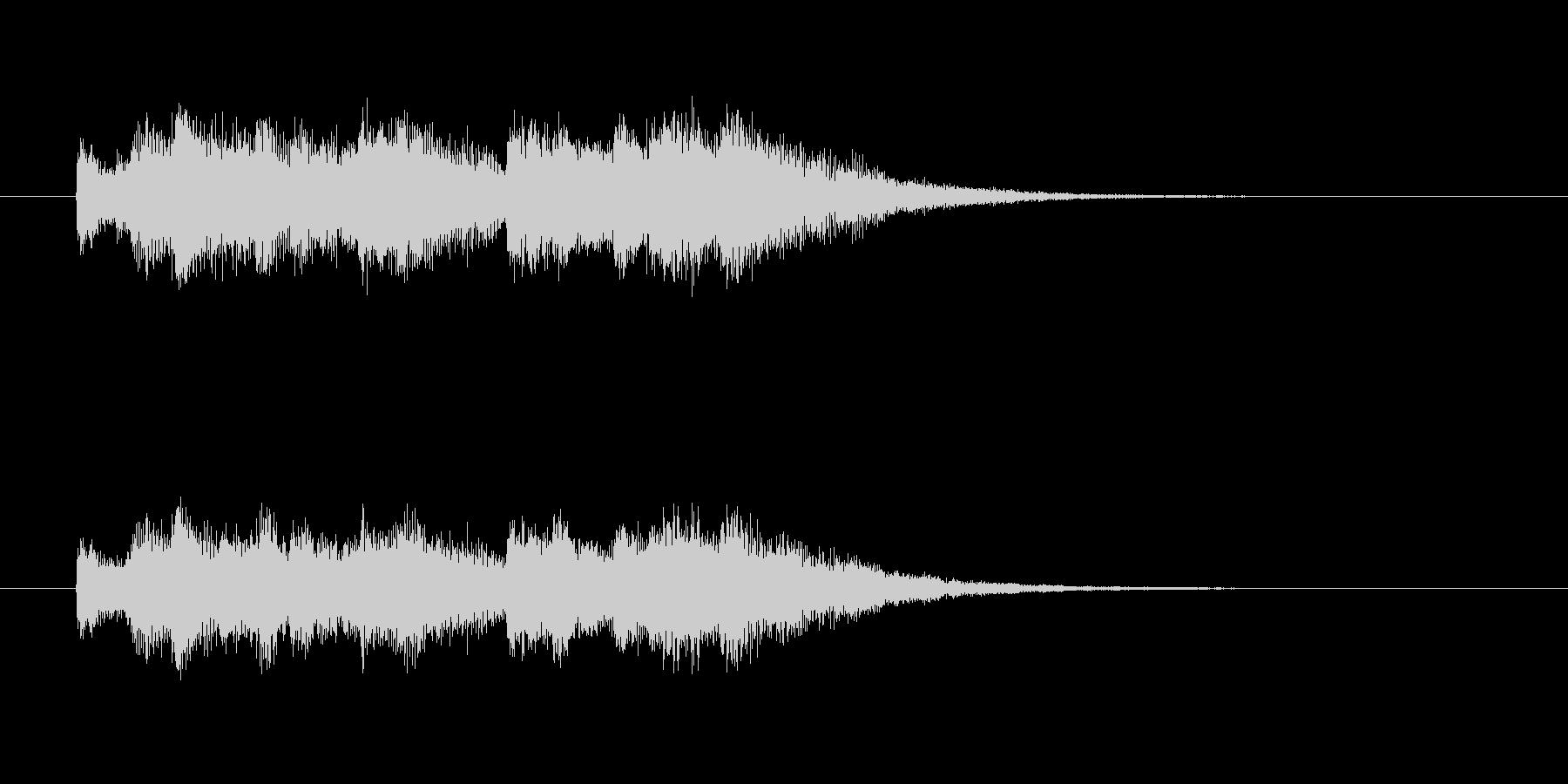 涼しげなシンセサウンド(セレモニー)の未再生の波形