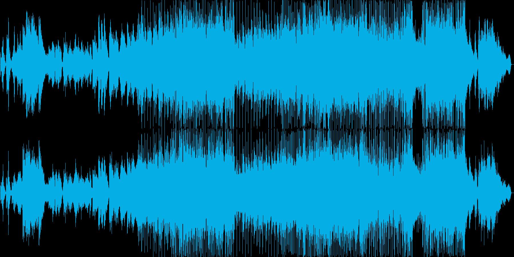 素敵なバラードの再生済みの波形