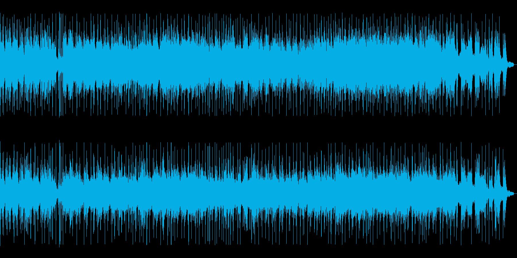 BGM016-01 ピアノとギターの落…の再生済みの波形