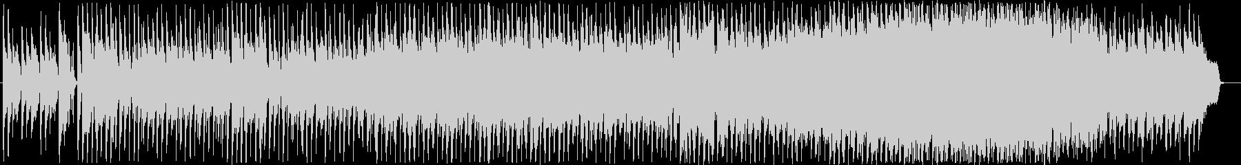 メロディ強めのポップ系BGMの未再生の波形
