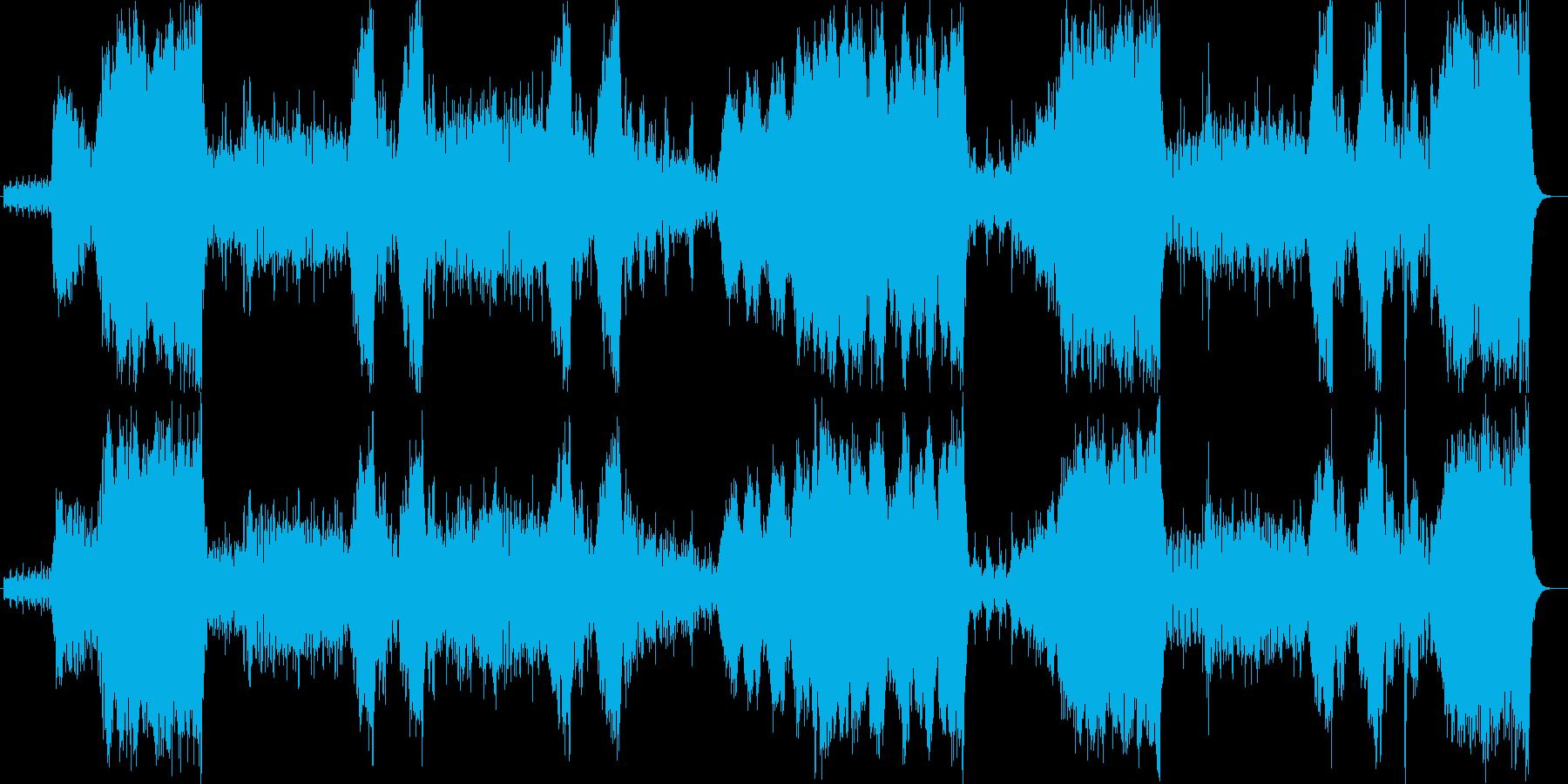聴くだけで思わず奮い立つ躍動的なポップスの再生済みの波形