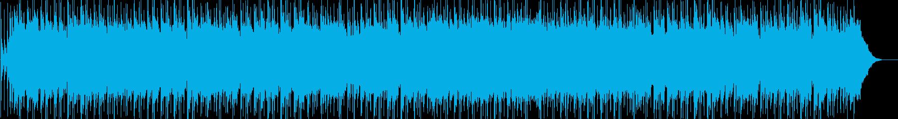 爽やかな目覚めをイメージしたフュージョンの再生済みの波形