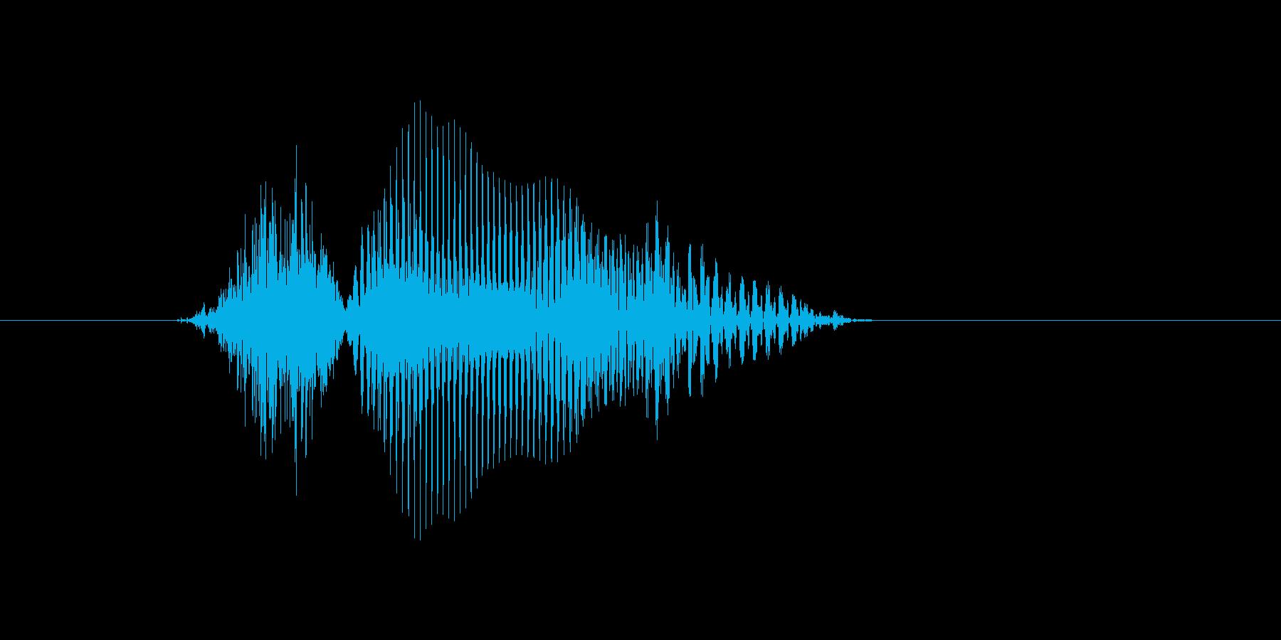兆の再生済みの波形