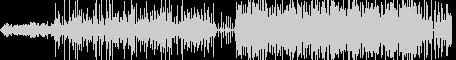 ジャズテイストのインストの未再生の波形