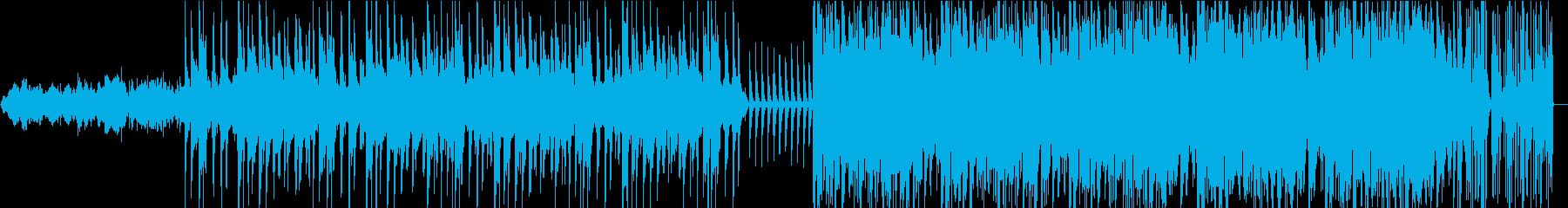 ジャズテイストのインストの再生済みの波形