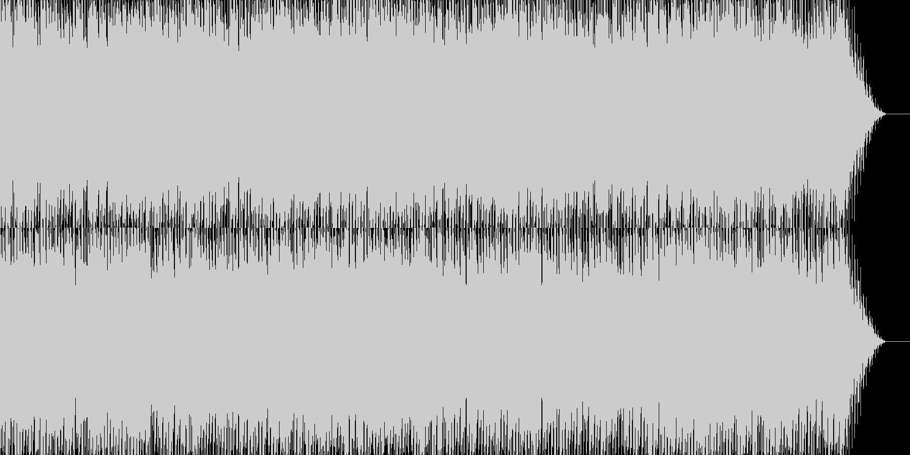 簡単なピアノトランスのループ素材の未再生の波形