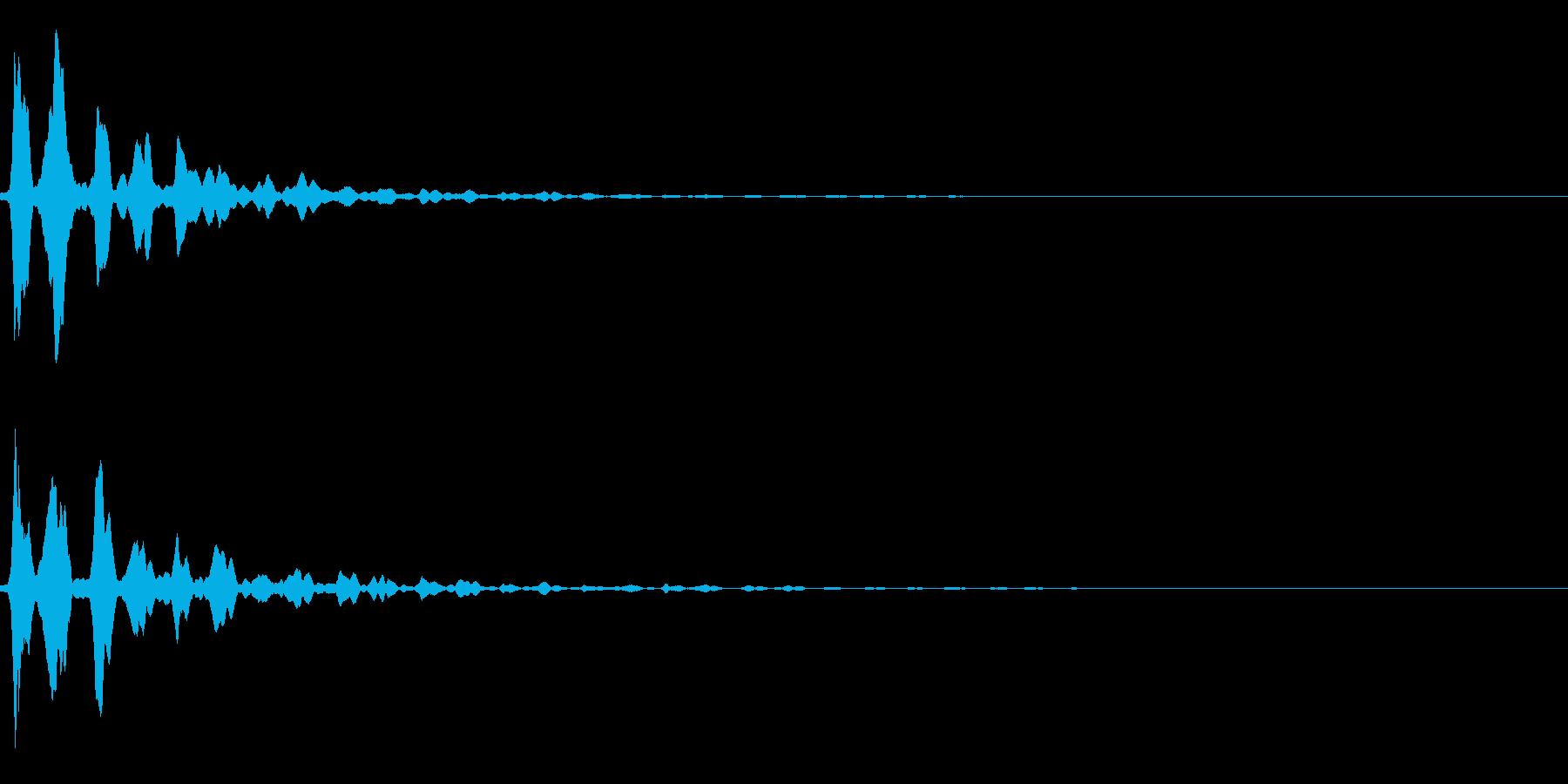 AnimeFX ピンとくる・閃き SEの再生済みの波形