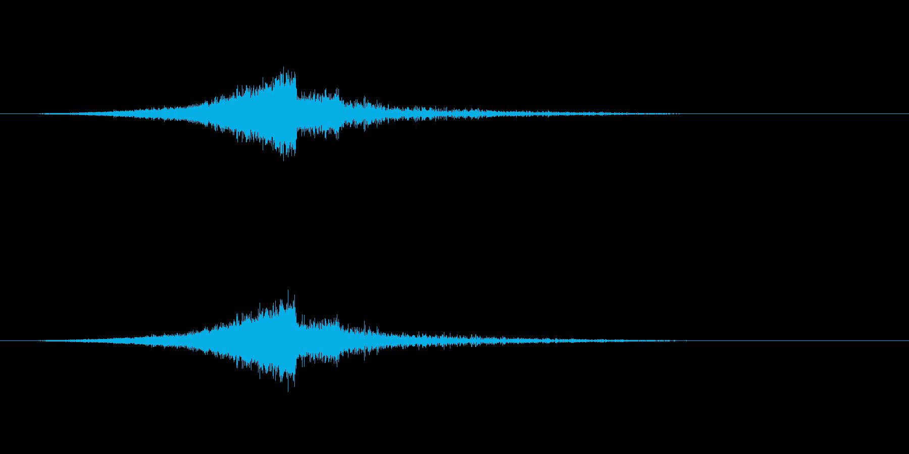 【ショートブリッジ21-1】の再生済みの波形