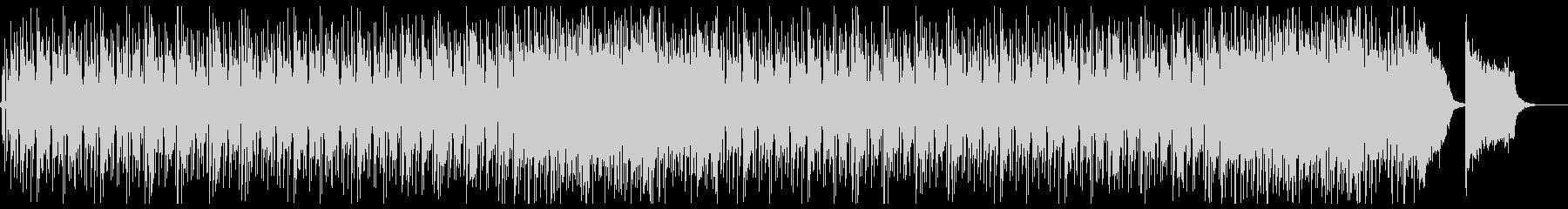 高速ビートのドラムンベースの未再生の波形