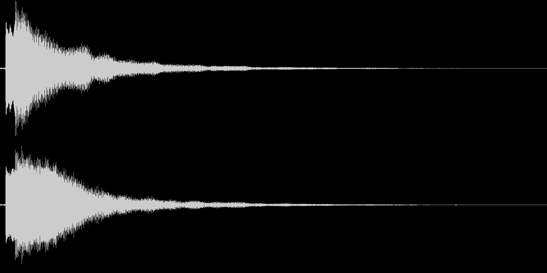 【ギター】Dmコードの未再生の波形
